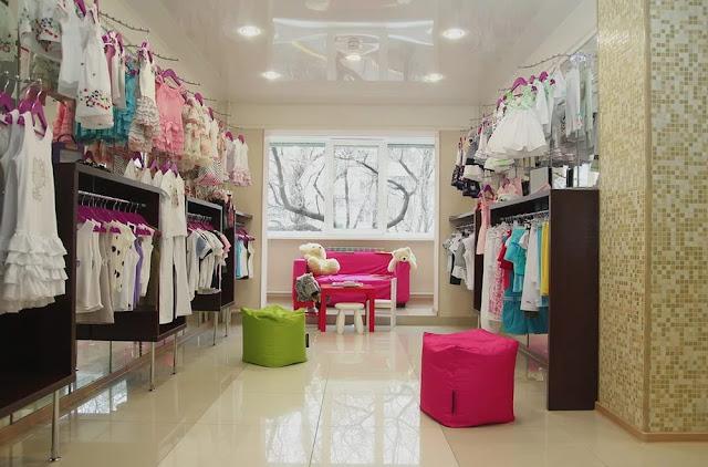 Thiết kế shop thời trang nhỏ đẹp - Mẫu số 10