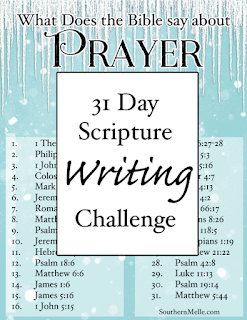http://www.southernmelle.com/2015/12/31-day-scripture-writing-plan-prayer/
