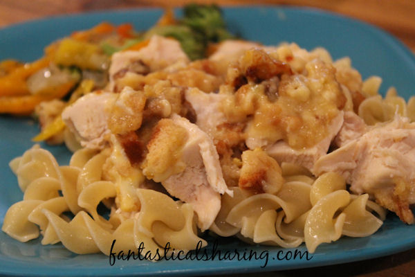 Pepperjack Chicken // All this yummy dinner takes is a layering of some ingredients and some time in the oven #chicken #recipe #maindish