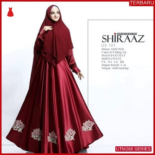 UTM288S49 Baju Shiraaz Muslim Syari UTM288S49 120 | Terbaru BMGShop