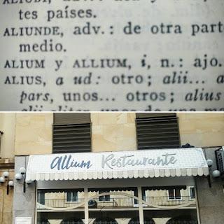 All y oli, en latín : allium o alium oleum