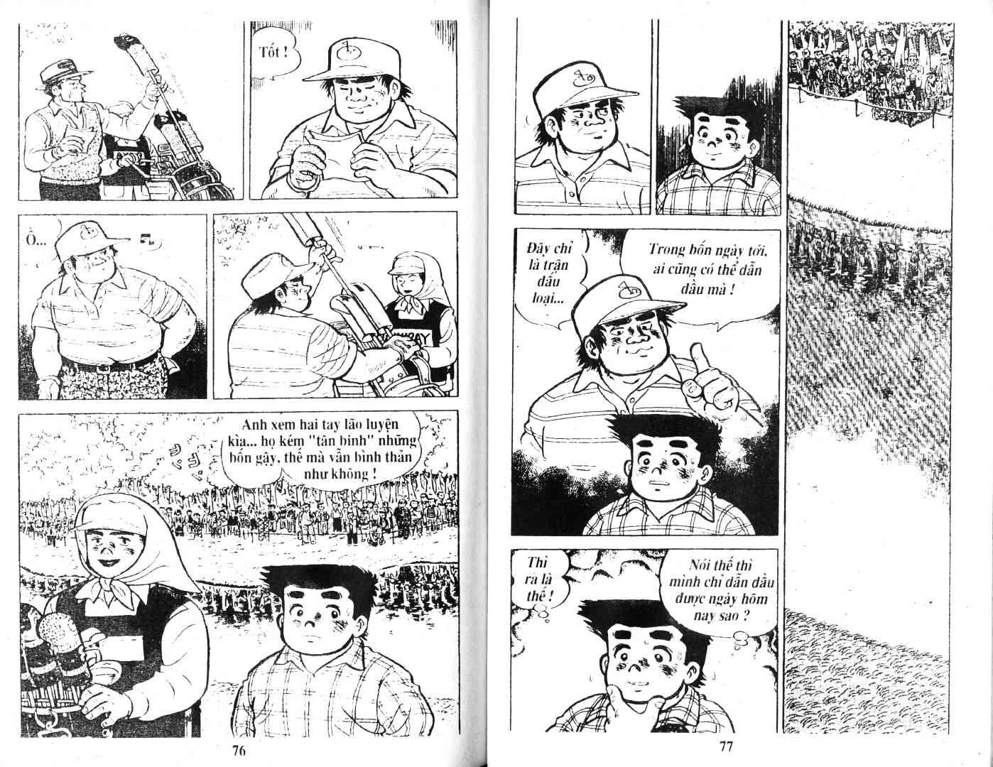 Ashita Tenki ni Naare chapter 38 trang 36