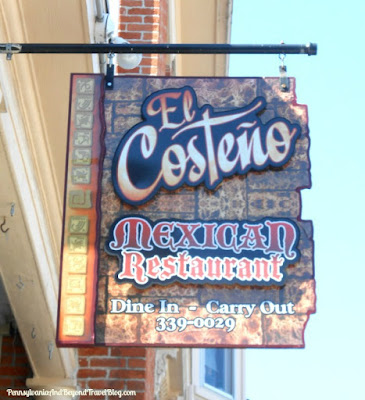 El Costeno Mexican Restaurant Gettysburg Pennsylvania
