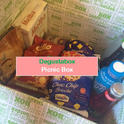 Degustabox, June, Picnic, Food, Drink, Subscription