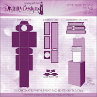 Divinity Designs Custom Test Tube Treats Dies