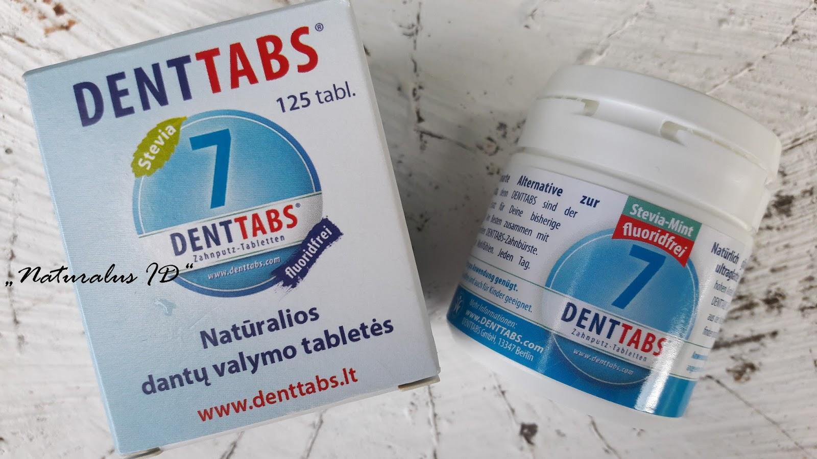 ekologiškos tabletės dantims