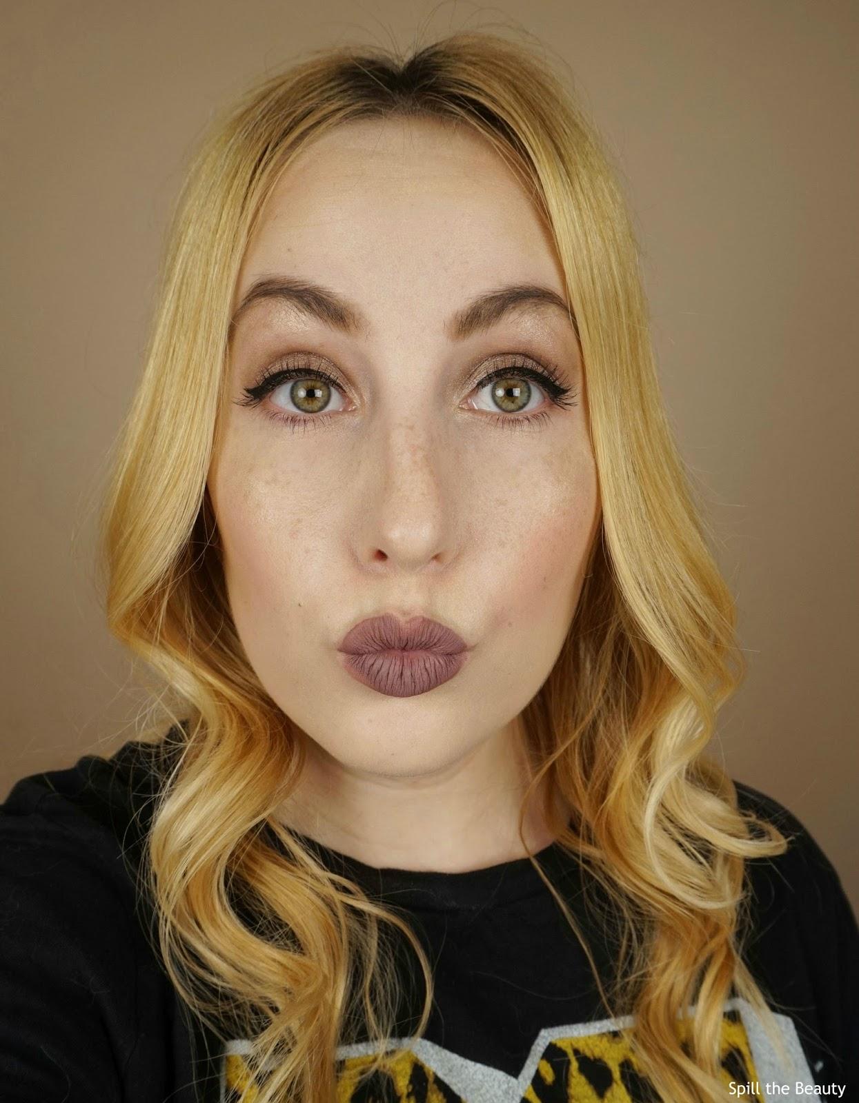 nyx lip lingirie embellishment review swatches comparison