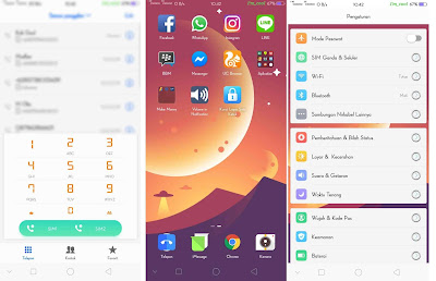 Update New Theme OPPO V804 For Oppo A83, F5, A39, A3S