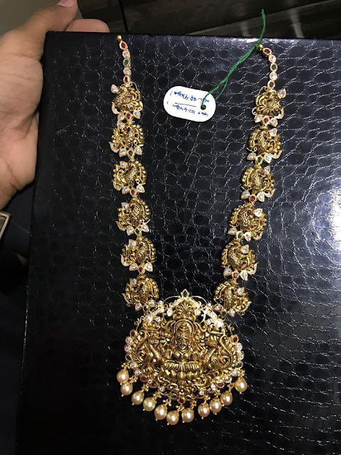Kundan and Nakshi Exclusive Haram Designs