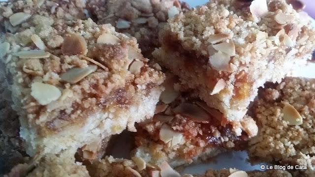 Apfelmuskuchen - gâteau allemand au compote de pommes