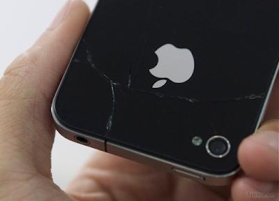 Thay mat kinh sau iPhone 4s gia re