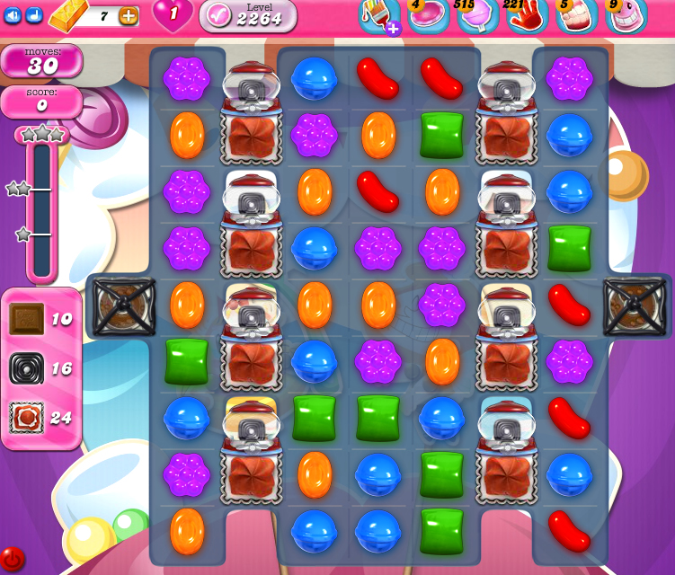 Candy Crush Saga level 2264