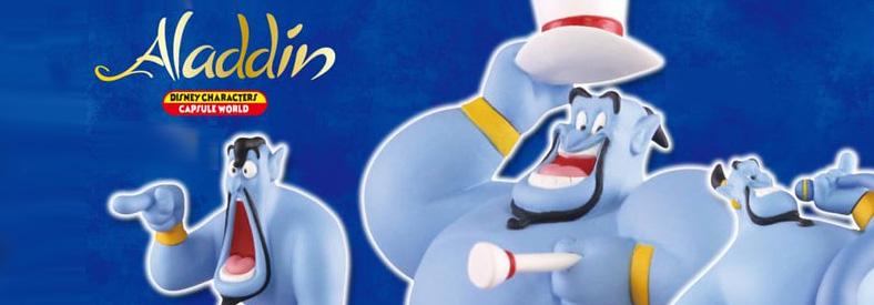 TakaraTomy Aladdin Disney Genie capsule toys Gashapon