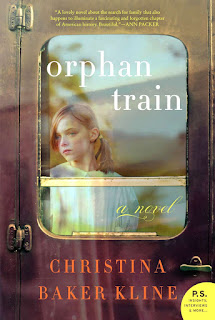 Orphan Train by Christina Baker Kline book cover