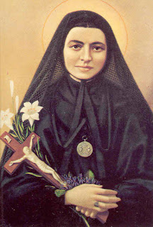 A depiction of Maria Bertilla Boscardin from Catholic Church literature