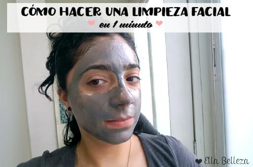 Cómo hacer una limpieza facial