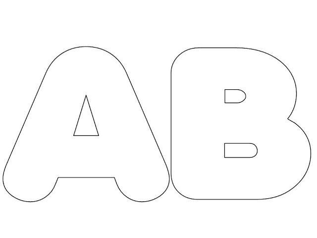 LOUCOS POR TECNOLOGIAS: Alfabeto tamanho grande colorido