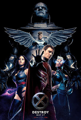 "X-Men: Apocalypse ""Four Horseman of the Apocalypse"" Theatrical Teaser One Sheet Movie Poster"