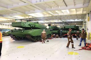 Tank Leopard 2Ri Pesanan Indonesia