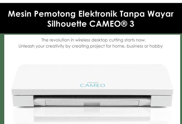 mesin pemotong elektronik Silhouette CAMEO