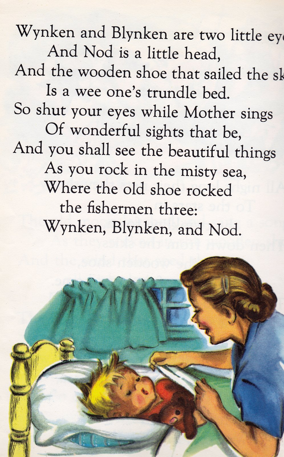 I Love The Wynken Blynken And Nod Poem So Beautiful Soothing For Bedtime Routines Haven T Been Very Peaceful Around Here