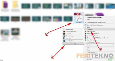 mengatasi file pdf yang error atau bermasalah