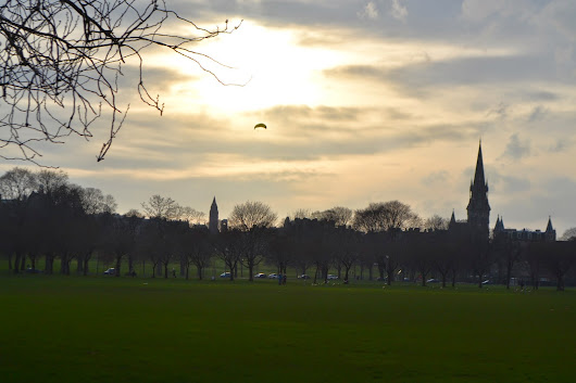 Written by Morgan: Edinburgh: Home for the Moment
