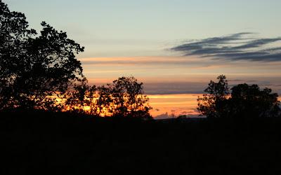 Puesta de sol en Cabañeros