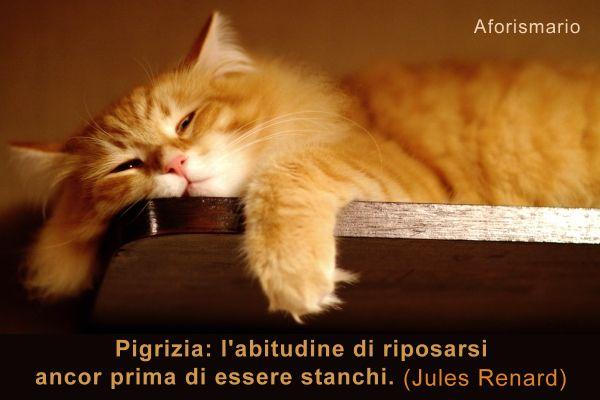 Amato Aforismario®: Pigrizia - Aforismi, frasi e proverbi SG97