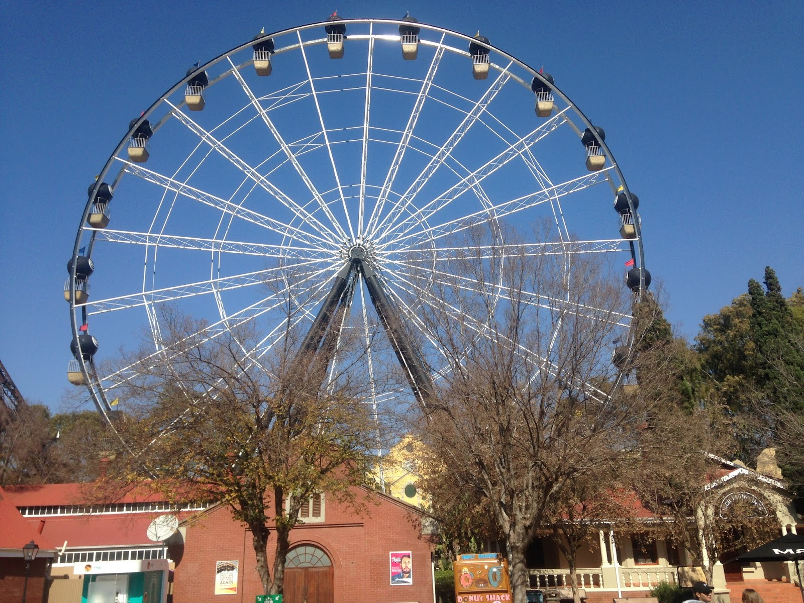 Giant Wheel Team Building Gold Reef City