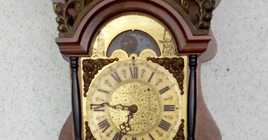 VINTAGE GERMANY WALL CLOCK RM1600