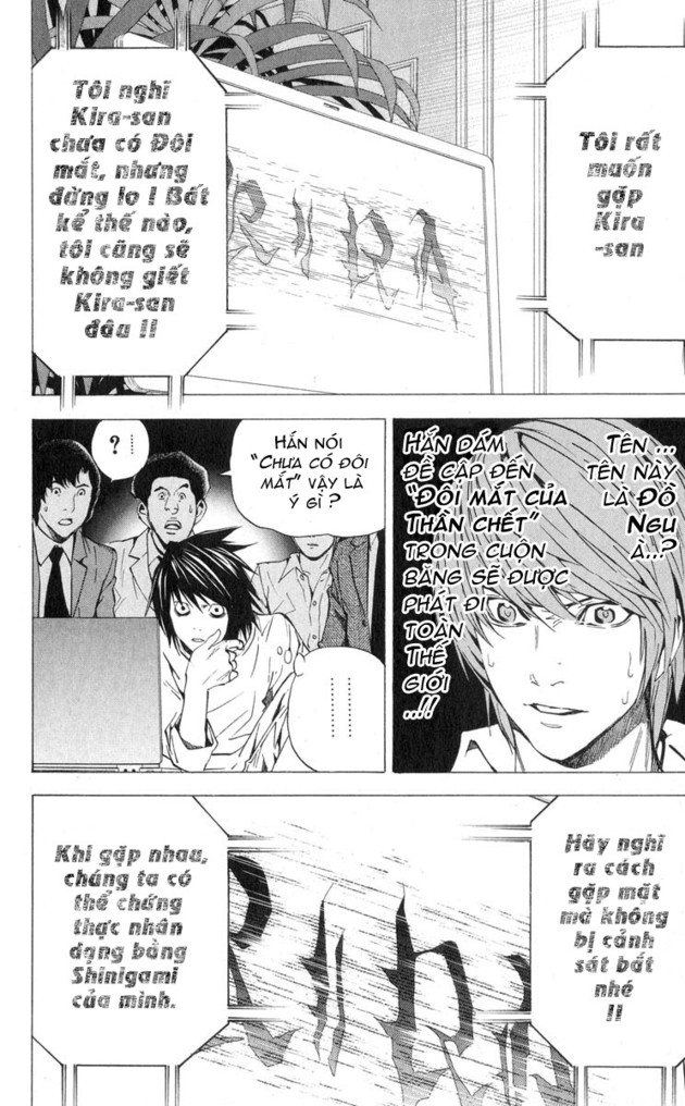 Death Note chapter 026 trang 24