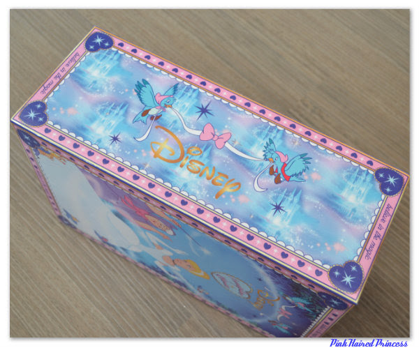 irregular choice disney cinderella box side