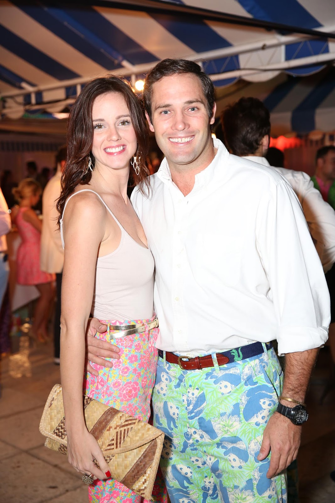 The Preppy American Lilly Pulitzer Beach Bash 2012