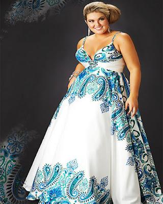 Vestidos elegantes largos para gorditas