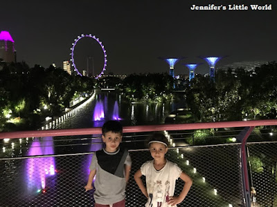 Singapore with the family