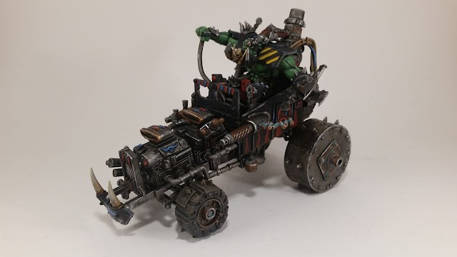 What's On Your Table: Ork Biker Boss