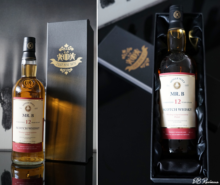 Personalised Malt Whisky with Gift Box