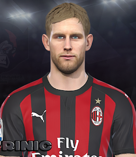 PES 2018 Faces Ivan Strinić by Prince Hamiz