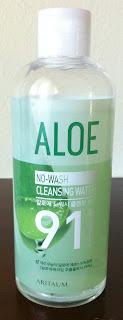 ARITAUM Aloe No-Wash Cleansing Water