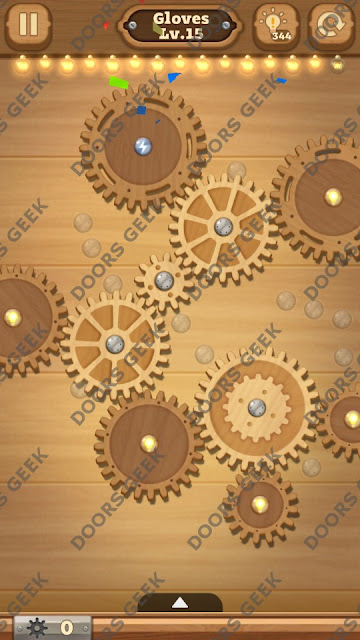 Fix it: Gear Puzzle [Gloves] Level 15 Solution, Cheats, Walkthrough for Android, iPhone, iPad and iPod