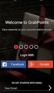 masuk ke akun Grabpoints