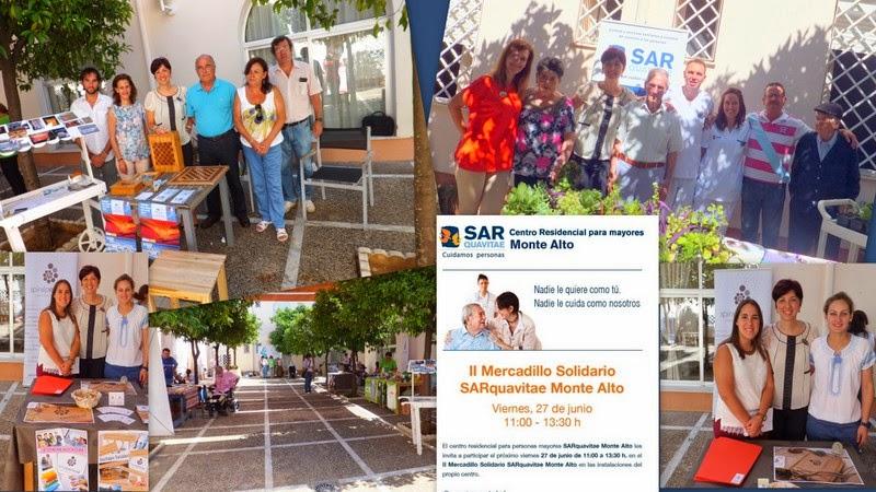 Spiral Personal participa en el  II Mercadillo Solidario Sarquavitae Monte Alto