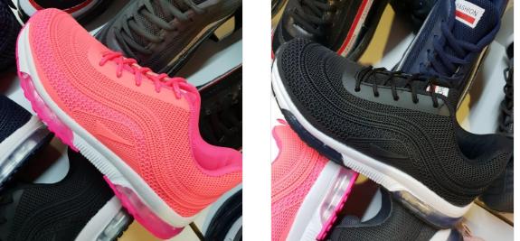 Pantofi dama sport femei cu talpa de silicon roz