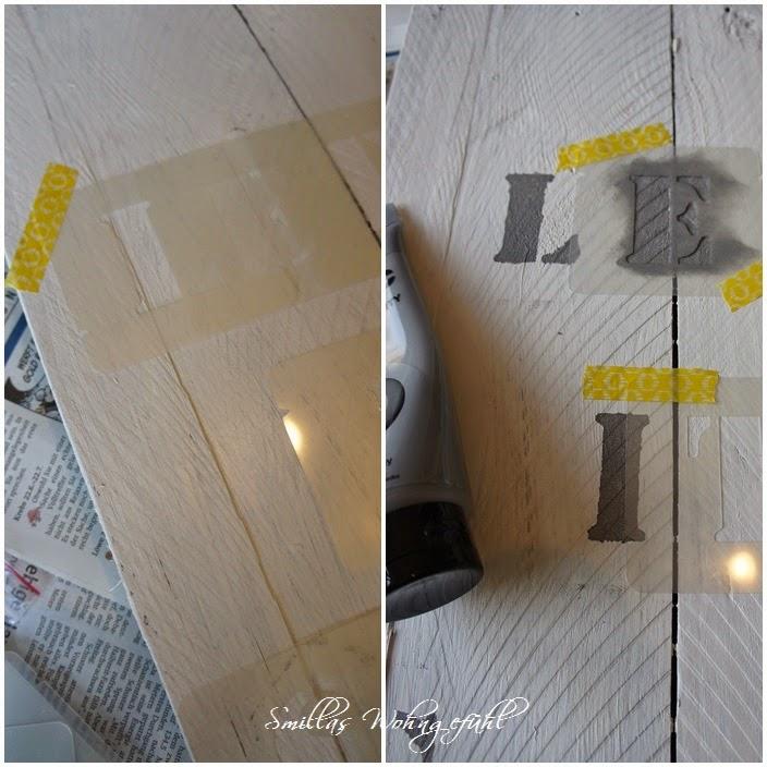 smillas wohngef hl diy holzschild selber bauen und beschriften. Black Bedroom Furniture Sets. Home Design Ideas