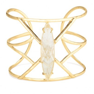 Stella & Dot Aria Cuff, as seen on Holly Robinson Peete
