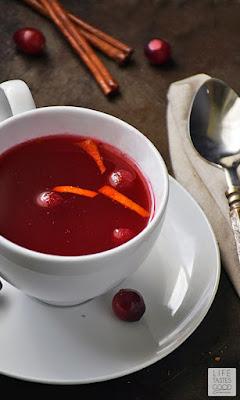Cranberry Tea | by Life Tastes Good