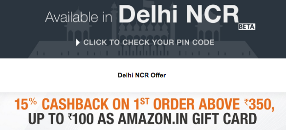 Amazon Now 2-Hour Deliveries Launched in Delhi NCR