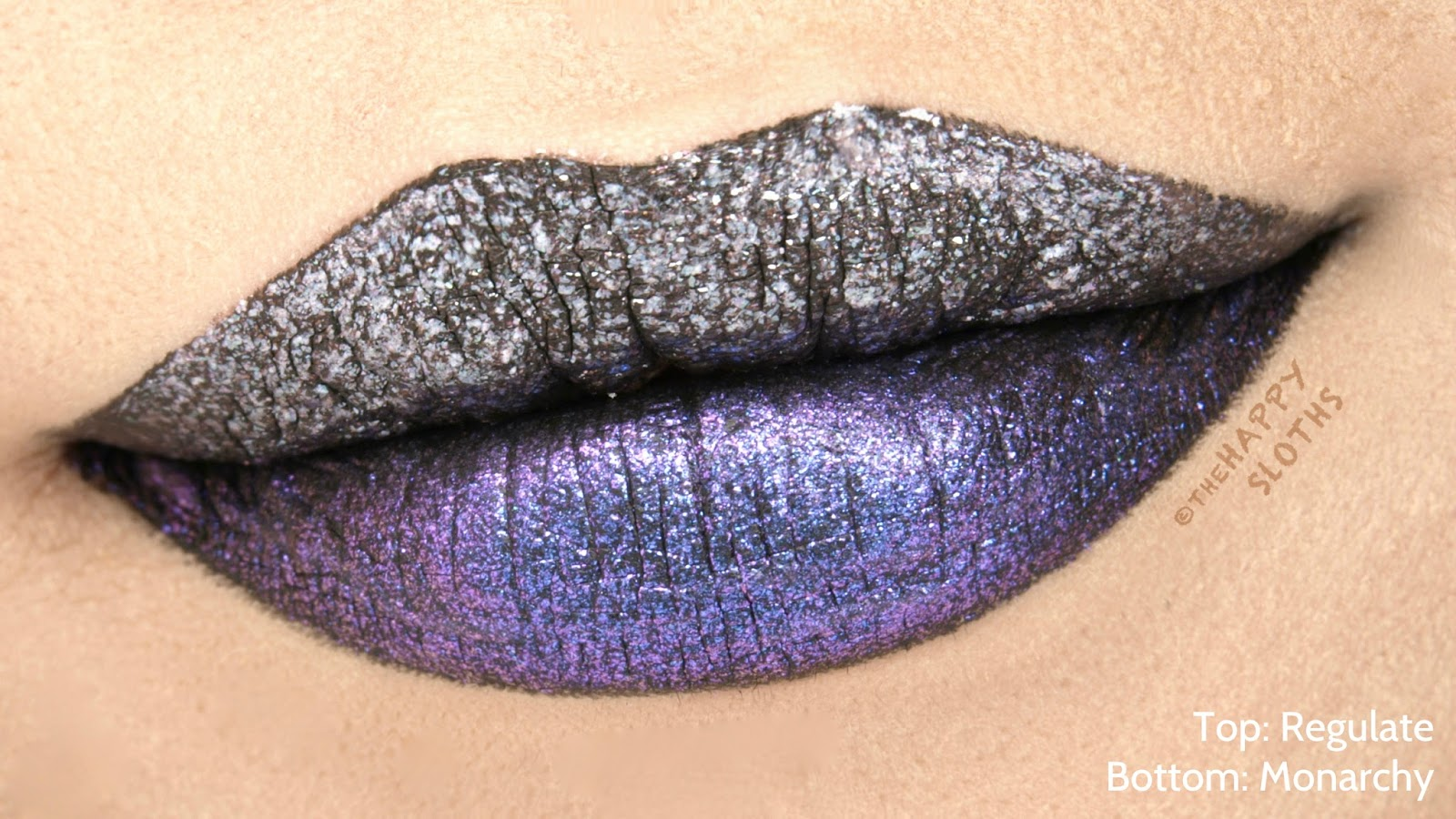 "Urban Decay Vice Special Effects Long-Lasting Water-Resistant Lip Topcoat in ""Regulate"" & ""Monarchy"": Review and Swatches"