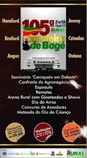 PAMPA GAÚCHO: 105ª Expofeira de Bagé,  no Parque Visconde Ribeiro de Magalhães